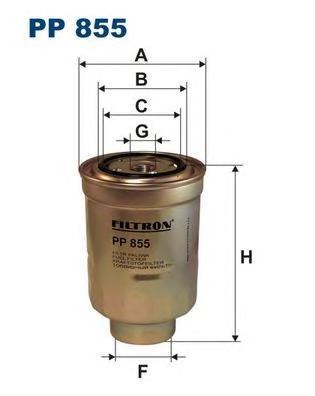 Фильтр топливный PP855