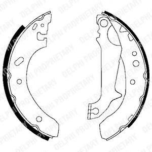 Комплект дисковых тормозных колодок
