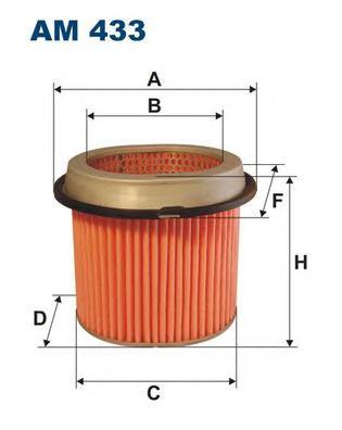 Фильтр воздушный AM433