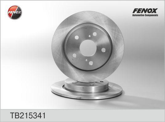 Диск тормозной Toyota Auris 07-, Corolla 04- TB215341