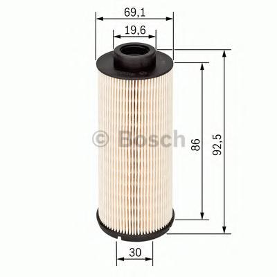 Фильтр топливный 1457431705