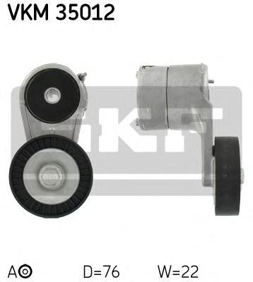 Натяжитель приводного ремня генератора Opel Astra G 1.4/1.6/1.8 16V 98>