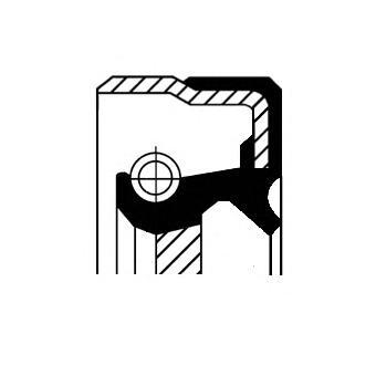 Сальник КПП ALFA ROMEO: 159 1.9 JTDM 16V/1.9 JTDM 8V 05-11