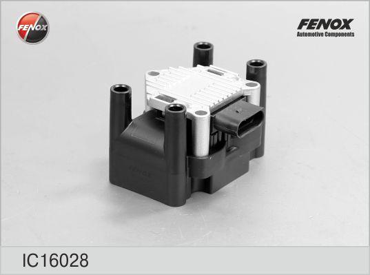 Катушка зажигания FENOX IC16028 VW Bora SKODA OCTAVIA+ коммутатор