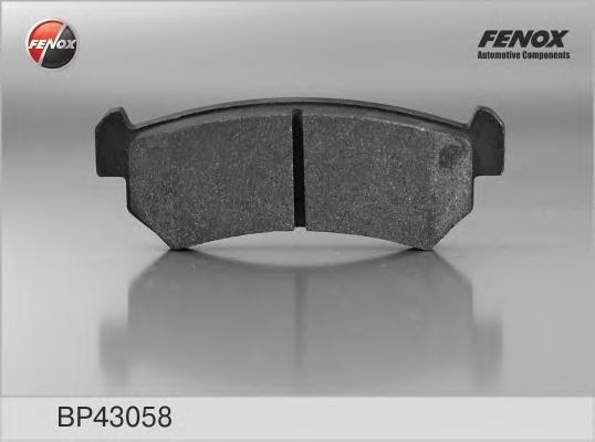 Колодки тормозные FENOX BP43058 Lacetti задн =GDB3348