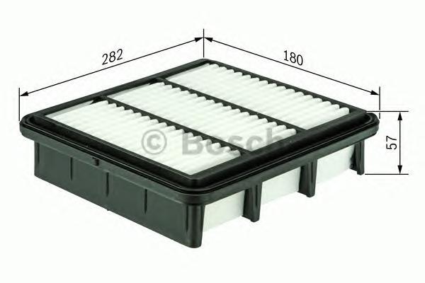 Фильтр воздушный FORD TRANSIT Bosch 2,4 06-