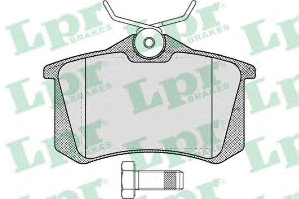 Комплект тормозных колодок 05P634