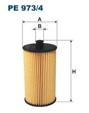 Фильтр топливный PE973/4