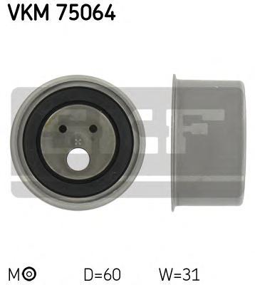 Ролик натяжителя VKM75064