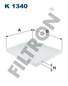 Фильтр салонный K1340