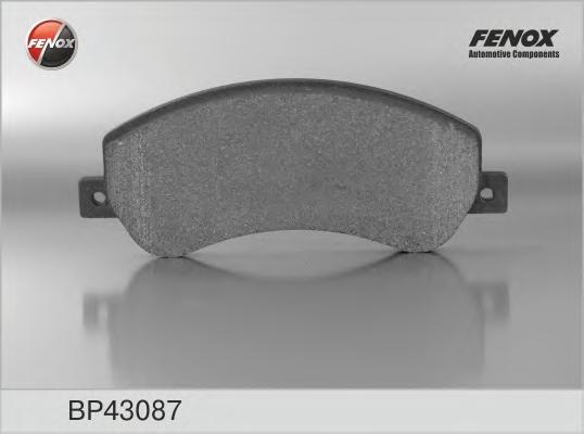 Колодки передние FORD TRANSIT 06-, VW AMAROK 10- (Bosch syst,) BP43087