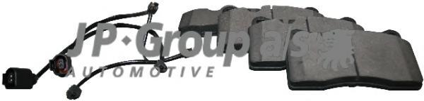 Колодки торм. Fr VW Touareg 3.0TDI/3.2/3.6 11/04