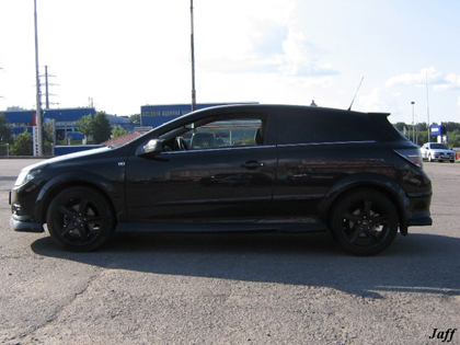 Eibach Sportline на Opel Astra H