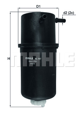 Фильтр топливный VAG Amarok 2.0D 10-13