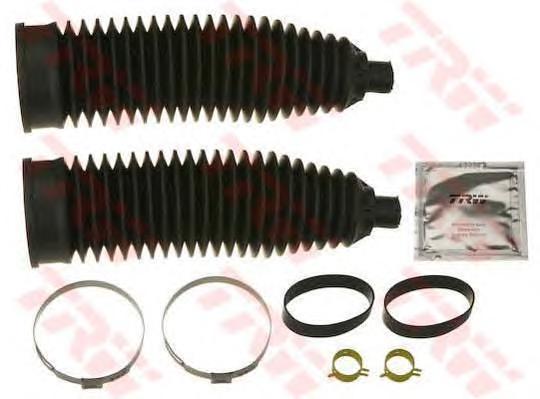 Пыльники рулевой рейки комплект FORD C-MAX, FOCUS C-MAX, VOLVO S40 II JBE219