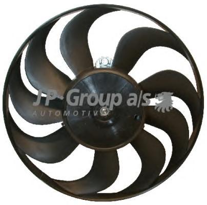 Вентилятор радиатора (220/60Watt- 290mm) AUDI, SEA