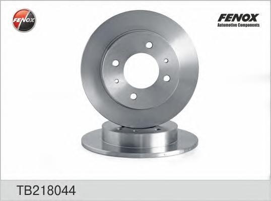 Диск тормозной задний Hyundai Coupe 96-02, Elantra XD 00-, Lantra 95-00 TB218044