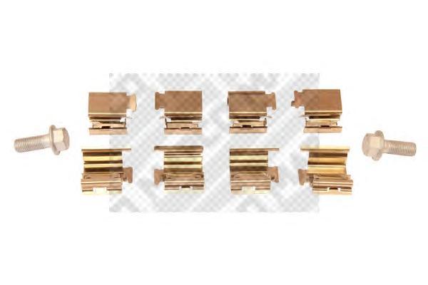 Р/комплект т/колодки дисковый тормоз