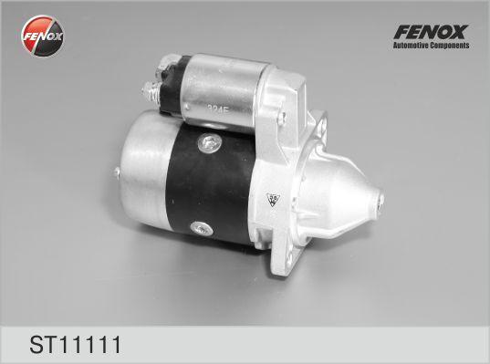 Стартер FENOX ST11111 Hyundai Accent 94-05, Elantra 00-06 1.6, JS349,