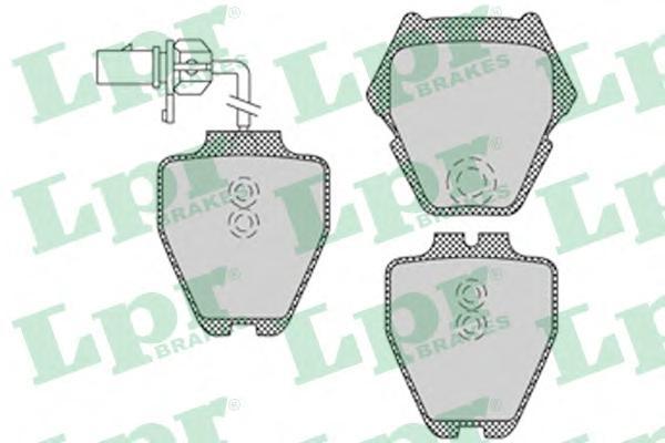 Комплект тормозных колодок 05P1121