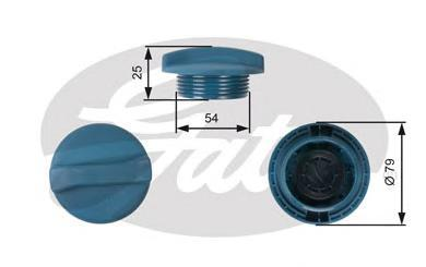 Крышка системы охлаждения дв. VAG 20V