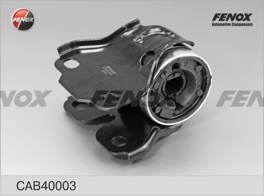 С/блок FENOX CAB40003 Ford Mondeo IV 07-, Galaxy 06-, S-Max 06-; Volvo S60 II 10-, S80 II 06-, V60 10-, V70 III 07- рычага задний с кронштейном левый