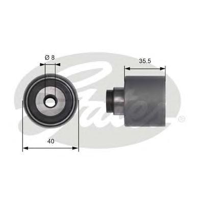 Ролик приводного ремня AUDI A2 1.4TDI A3 1.9TDi 00> 40x36