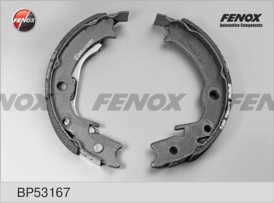 Колодки ручного тормоза FENOX BP53167 LACETTI 170*26