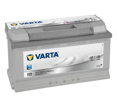 Аккумулятор VARTA 6004020833162 SD e 100А/ч 830А (-/+) (353*175*190)