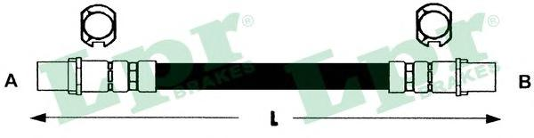 Шланг тормозной LPR 6T47842 OPEL CORSA C задн