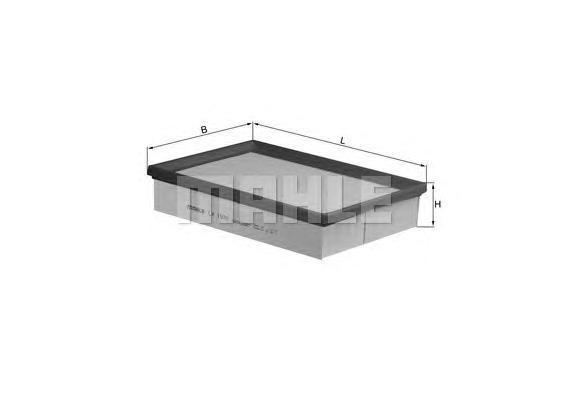 Фильтр воздушный FORD Focus C-Max 1,6TDCi 10/03->