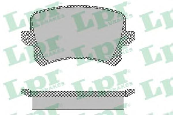 Комплект тормозных колодок 05P1390