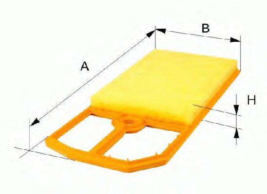 Фильтр воздушный AP183
