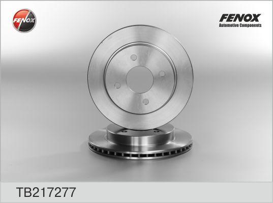 Диск тормозной задний FORD Mondeo I, II, Scorpio II 93-01 TB217277