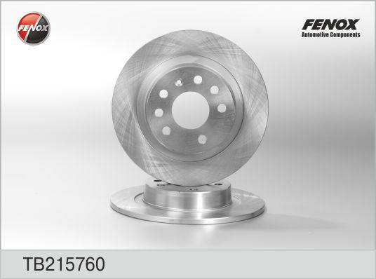 Диск тормозной задний Opel Astra H, Zafira B TB215760