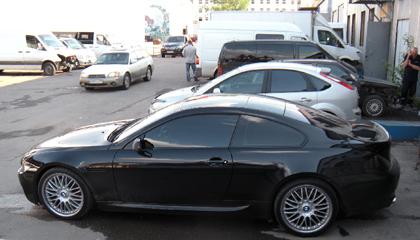 Eibach Pro-Kit на BMW 6 (E63)