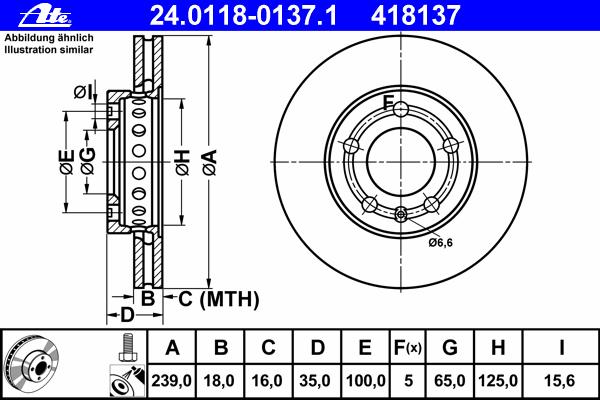 Диск тормозной передн, SKODA: FABIA 1.2/1.2 12V/1.2 TDI/1.2 TSI/1.4/1.4 TDI/1.4 TSI/1.6/1.6 TDI/1.9 TDI 06-, FABIA 1.0/1.2/1.4/1.4 16V/1.4 TDI/1.9 SDI/1.9 TDI/1.9
