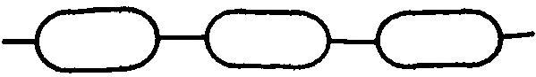 Прокладка коллектора Audi A6. VW Passat 2.4/2.8 97 In (2)
