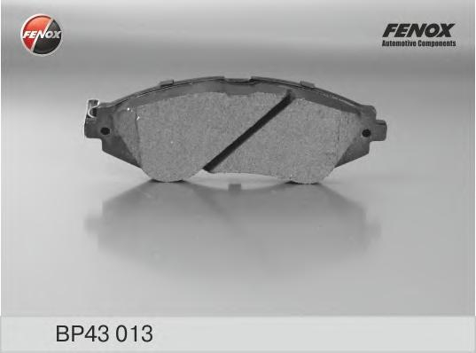 """Колодки передние Daewoo Lanos 1,5 97- 14"""", Rezzo/Tacuma 1,6, 1,8, 2,0 BP43013"""