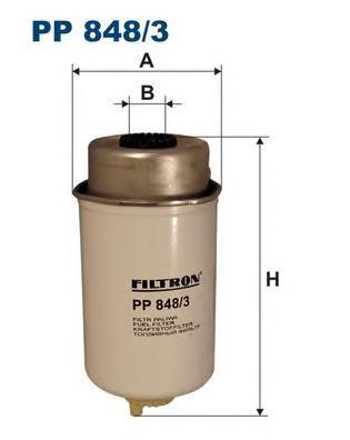 Фильтр топливный PP848/3