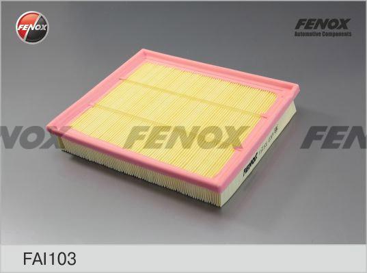 Фильтр воздушный Daewoo Nexia 08- 1,5, Espero 91-99 1,5-2,0, Opel Kadett 84-92 1,8, 2,0 FAI103