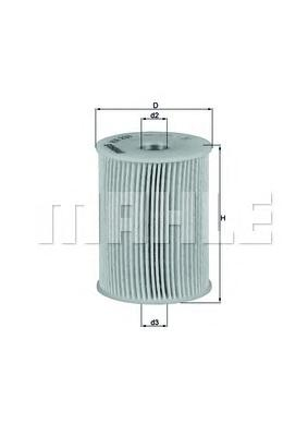 Фильтр топливный OPEL: ASTRA H 1.7CDTI 07-, MERIVA 1.7CDTI 06-, ZAFIRA 08-