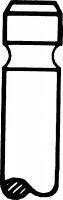 Клапан выпускной PEUGEOT 106/206/CITROEN C2/C3 1,1/1,4