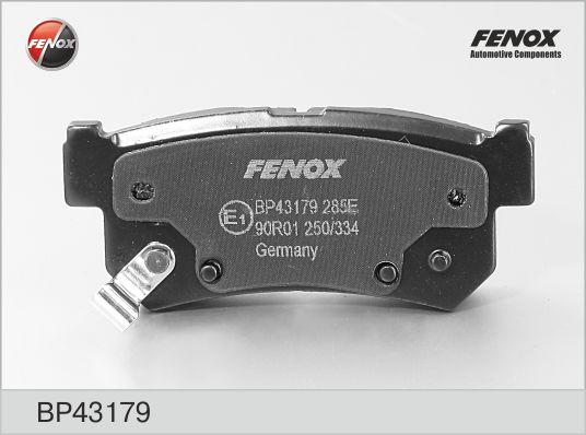 Колодки тормозные FENOX BP43179 SSANGYONG REXTON
