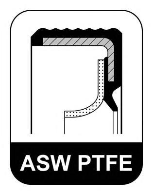 Сальник 85x105x8.8 ASW LD PTFE/FPM Citroen. Ford 1.4HDi/1.6HDi 01>