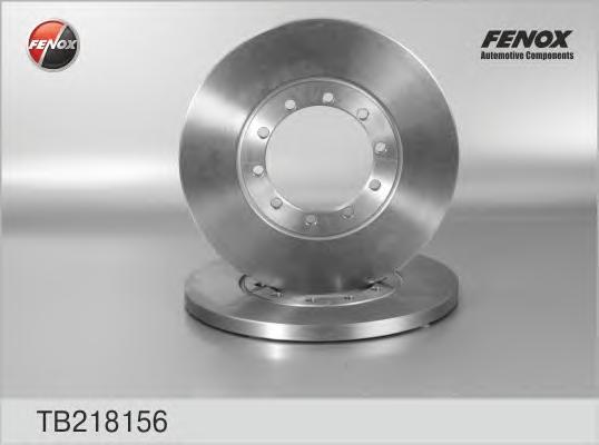 Диск тормозной задний FORD Transit 06- TB218156