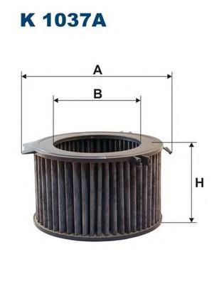 Фильтр салонный угольный K1037A