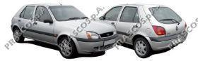 Бампер передний грунтованный / FORD Fiesta 99~02
