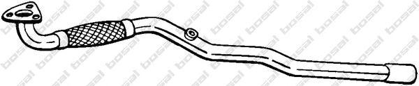 Труба приемная OPEL ZAFIRA B 05-