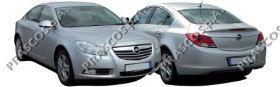 Бампер передний грунтованный (для а/м с парктроником без фароомывателя) / OPEL Insignia 09~13